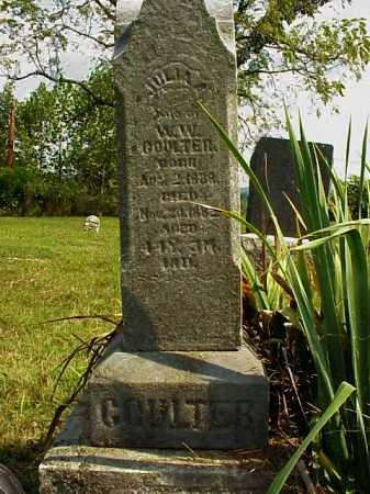 GRATE COULTER, JULIA A. - Meigs County, Ohio | JULIA A. GRATE COULTER - Ohio Gravestone Photos