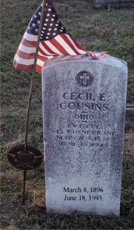 COUSINS, CECIL E. - Meigs County, Ohio | CECIL E. COUSINS - Ohio Gravestone Photos