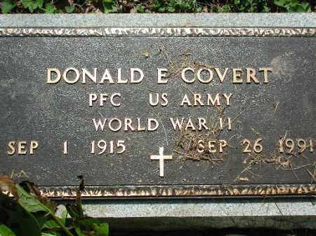 COVERT, DONALD E. - Meigs County, Ohio | DONALD E. COVERT - Ohio Gravestone Photos