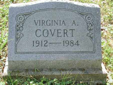 COVERT, VIRGINIA A. - Meigs County, Ohio | VIRGINIA A. COVERT - Ohio Gravestone Photos
