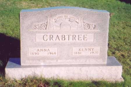 CRABTREE, ANNA - Meigs County, Ohio | ANNA CRABTREE - Ohio Gravestone Photos