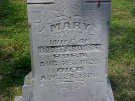 CRAGGS, MARY - Meigs County, Ohio | MARY CRAGGS - Ohio Gravestone Photos