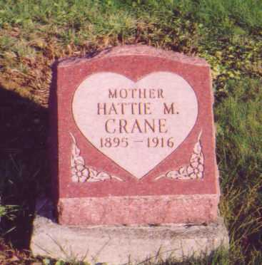 CRANE, HATTIE M. - Meigs County, Ohio | HATTIE M. CRANE - Ohio Gravestone Photos