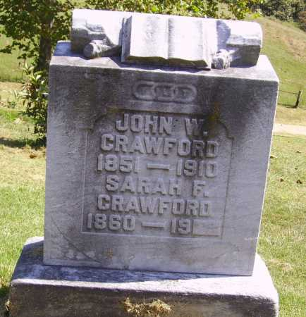 CRAWFORD, JOHN W. - Meigs County, Ohio | JOHN W. CRAWFORD - Ohio Gravestone Photos