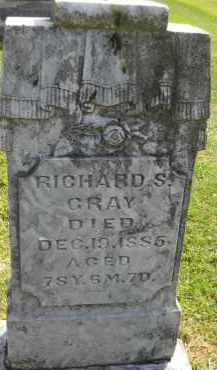 CRAY, RICHARD S. - Meigs County, Ohio | RICHARD S. CRAY - Ohio Gravestone Photos