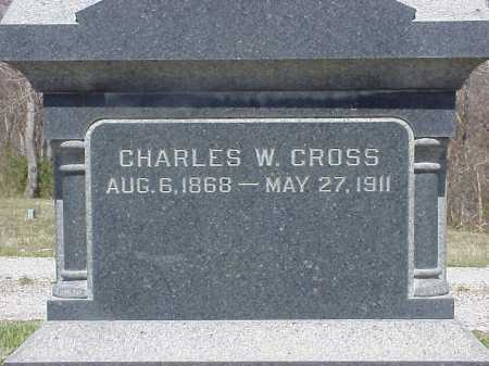 CROSS, CHARLES W. - Meigs County, Ohio | CHARLES W. CROSS - Ohio Gravestone Photos