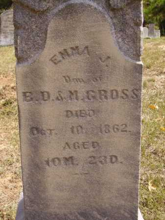 CROSS, EMMA - Meigs County, Ohio | EMMA CROSS - Ohio Gravestone Photos