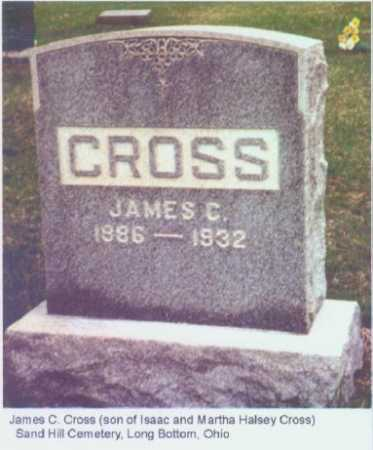 CROSS, JAMES C. - Meigs County, Ohio | JAMES C. CROSS - Ohio Gravestone Photos
