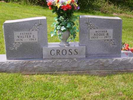 CROSS, WALTER E. - Meigs County, Ohio | WALTER E. CROSS - Ohio Gravestone Photos