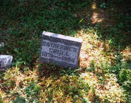 CRULL, CATHERINE S. - Meigs County, Ohio | CATHERINE S. CRULL - Ohio Gravestone Photos