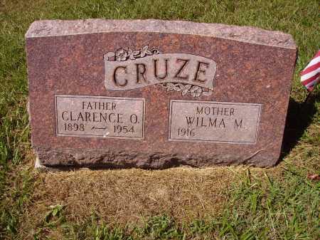 CRUZE, CLARENCE O. - Meigs County, Ohio | CLARENCE O. CRUZE - Ohio Gravestone Photos