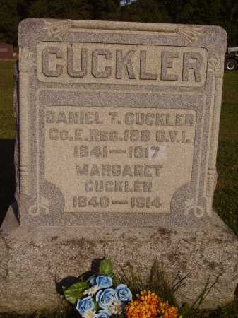 CUCKLER, MARGARET - Meigs County, Ohio | MARGARET CUCKLER - Ohio Gravestone Photos