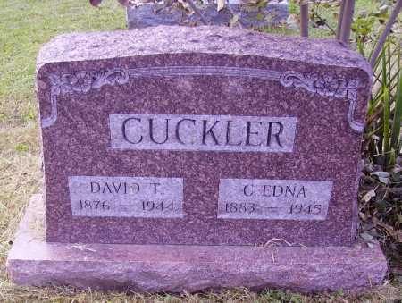 CUCKLER, DAVID T. - Meigs County, Ohio | DAVID T. CUCKLER - Ohio Gravestone Photos