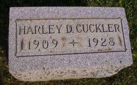 CUCKLER, HARLEY DALE - Meigs County, Ohio | HARLEY DALE CUCKLER - Ohio Gravestone Photos