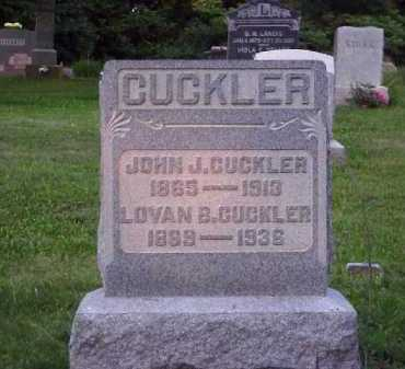 CUCKLER, JOHN J. - Meigs County, Ohio | JOHN J. CUCKLER - Ohio Gravestone Photos