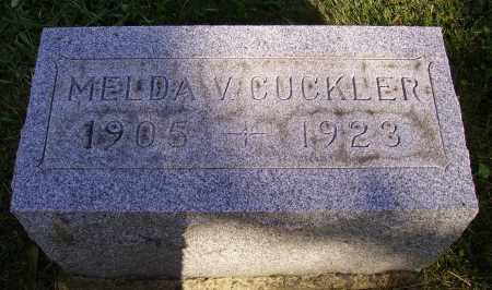 CUCKLER, MELDA V. - Meigs County, Ohio | MELDA V. CUCKLER - Ohio Gravestone Photos