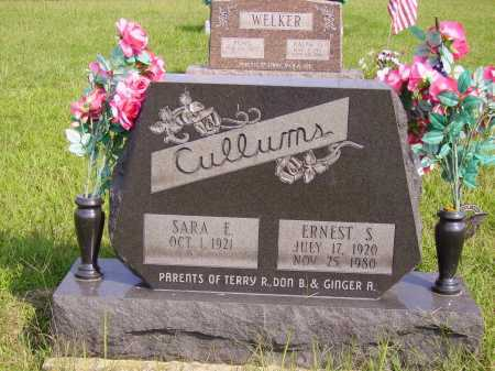 CULLUMS, ERNEST S. - Meigs County, Ohio | ERNEST S. CULLUMS - Ohio Gravestone Photos