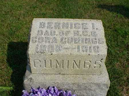 CUMINGS, BERNICE I. - Meigs County, Ohio | BERNICE I. CUMINGS - Ohio Gravestone Photos