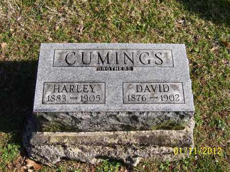 CUMINGS, HARLEY - Meigs County, Ohio | HARLEY CUMINGS - Ohio Gravestone Photos