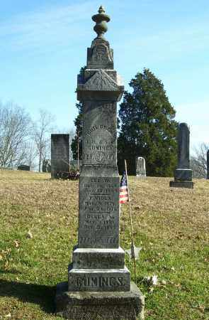 CUMINGS, DELLA A - Meigs County, Ohio | DELLA A CUMINGS - Ohio Gravestone Photos