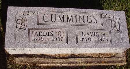 CUMMINGS, DAVIS V. - Meigs County, Ohio | DAVIS V. CUMMINGS - Ohio Gravestone Photos