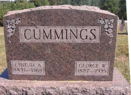 CUMMINGS, GEORGE W. - Meigs County, Ohio | GEORGE W. CUMMINGS - Ohio Gravestone Photos