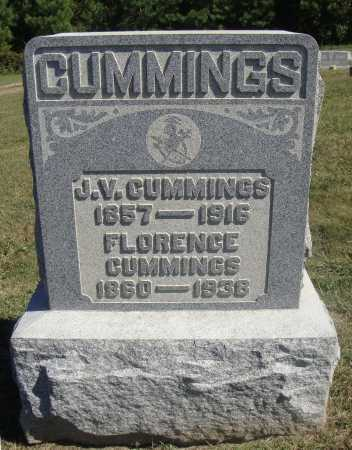 GABRIEL CUMMINGS, FLORENCE - Meigs County, Ohio | FLORENCE GABRIEL CUMMINGS - Ohio Gravestone Photos