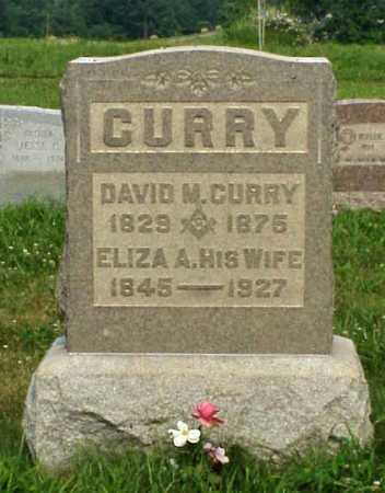 WEAVER CURRY, ELIZA A. - Meigs County, Ohio | ELIZA A. WEAVER CURRY - Ohio Gravestone Photos