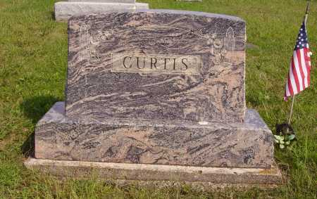 CURTIS, FAMILY MONUMENT - Meigs County, Ohio | FAMILY MONUMENT CURTIS - Ohio Gravestone Photos