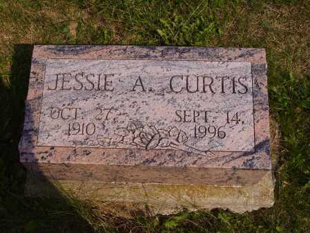 CURTIS, JESSIE A. - Meigs County, Ohio | JESSIE A. CURTIS - Ohio Gravestone Photos