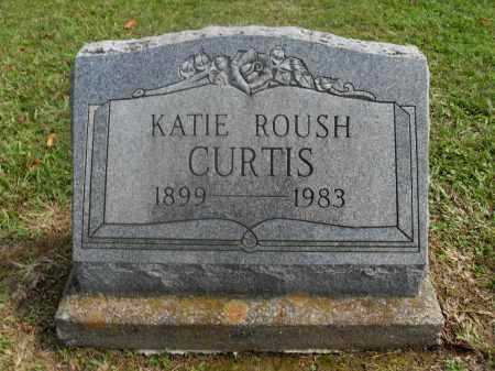 ROUSH CURTIS, KATIE - Meigs County, Ohio | KATIE ROUSH CURTIS - Ohio Gravestone Photos