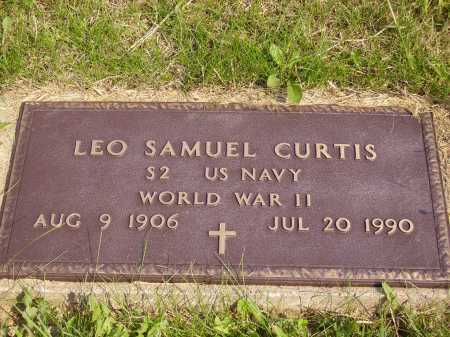 CURTIS, LEO SAMUEL - Meigs County, Ohio | LEO SAMUEL CURTIS - Ohio Gravestone Photos