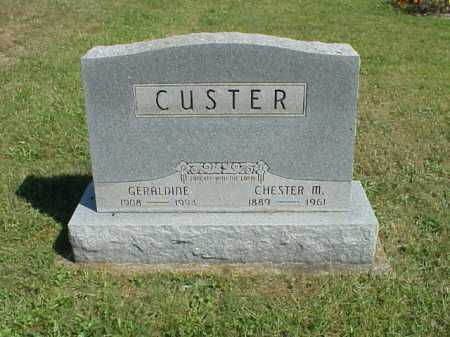 HILMUS CUSTER, GERALDINE - Meigs County, Ohio | GERALDINE HILMUS CUSTER - Ohio Gravestone Photos