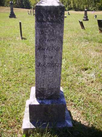 CUTRIGHT, HENRY - Meigs County, Ohio | HENRY CUTRIGHT - Ohio Gravestone Photos