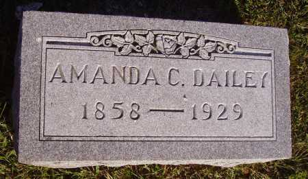 DAILEY, AMANDA C. - Meigs County, Ohio | AMANDA C. DAILEY - Ohio Gravestone Photos