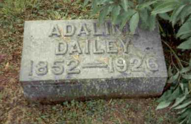 TOWNSEND DAILEY, ADALINE - Meigs County, Ohio | ADALINE TOWNSEND DAILEY - Ohio Gravestone Photos