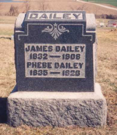 DAILEY, JAMES - Meigs County, Ohio | JAMES DAILEY - Ohio Gravestone Photos