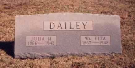 DAILEY, WM. ELZA - Meigs County, Ohio | WM. ELZA DAILEY - Ohio Gravestone Photos