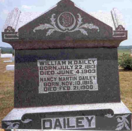DAILEY, WILLIAM M. - Meigs County, Ohio | WILLIAM M. DAILEY - Ohio Gravestone Photos