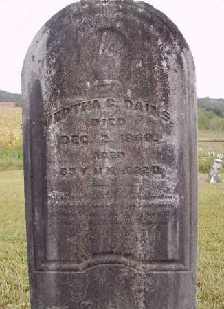 DAINS, JEPTHA G. - Meigs County, Ohio | JEPTHA G. DAINS - Ohio Gravestone Photos