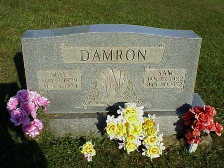 DAMRON, MAE - Meigs County, Ohio | MAE DAMRON - Ohio Gravestone Photos