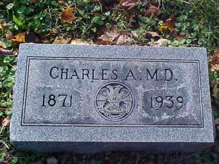 DANIELS, CHARLES A., M.D. - Meigs County, Ohio | CHARLES A., M.D. DANIELS - Ohio Gravestone Photos