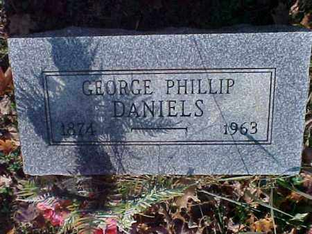 DANIELS, GEORGE PHILLIP - Meigs County, Ohio | GEORGE PHILLIP DANIELS - Ohio Gravestone Photos