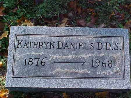 DANIELS, KATHRYN, D.D.S. - Meigs County, Ohio | KATHRYN, D.D.S. DANIELS - Ohio Gravestone Photos