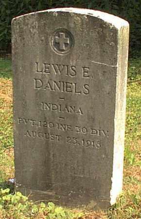 DANIELS, LEWIS E. - Meigs County, Ohio | LEWIS E. DANIELS - Ohio Gravestone Photos