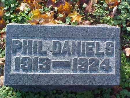 DANIELS, PHIL - Meigs County, Ohio | PHIL DANIELS - Ohio Gravestone Photos