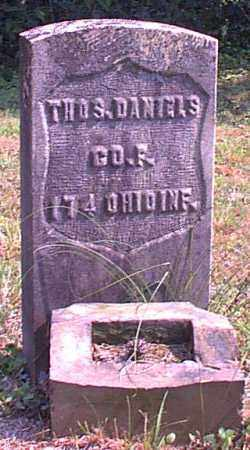 DANIELS, THOS. - Meigs County, Ohio | THOS. DANIELS - Ohio Gravestone Photos