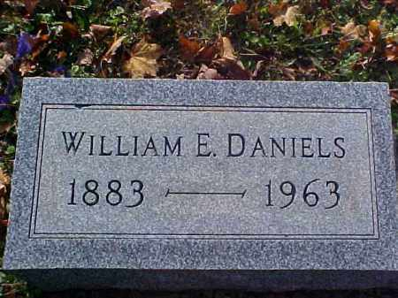 DANIELS, WILLIAM E. - Meigs County, Ohio | WILLIAM E. DANIELS - Ohio Gravestone Photos