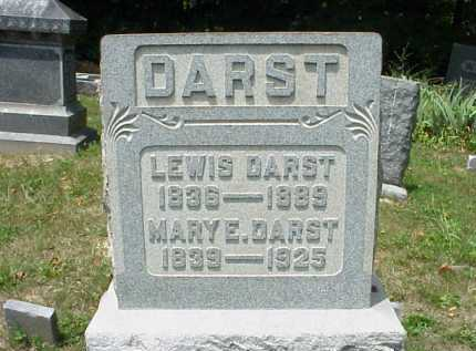 DARST, LEWIS - Meigs County, Ohio | LEWIS DARST - Ohio Gravestone Photos