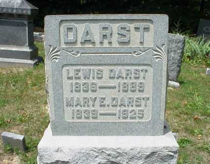 DARST, MARY E. - Meigs County, Ohio | MARY E. DARST - Ohio Gravestone Photos